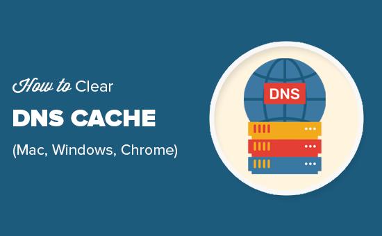 MacOS, Windows ve Chrome'da DNS önbelleğini kolayca temizleyin