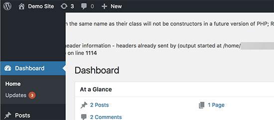 WordPress hata ayıklama modu