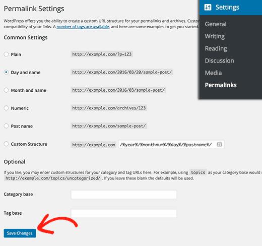 WordPress'te .htaccess dosyasını yeniden oluşturma