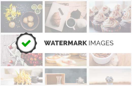 WordPress'te filigran görüntüleri