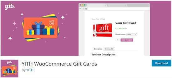 YITH WooCommerce hediye kartları