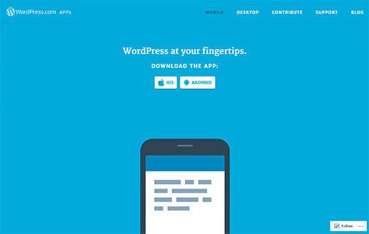 WordPress.com Uygulamaları