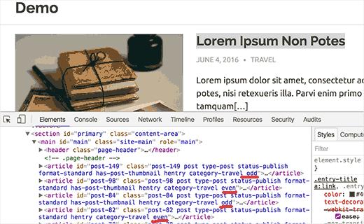 Kaynak koddaki tek ve çift sınıflar