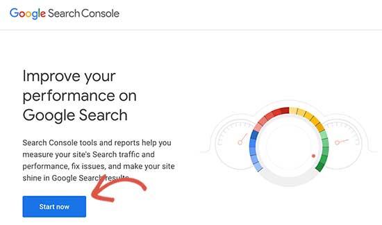 Google Arama Konsolunu Başlat