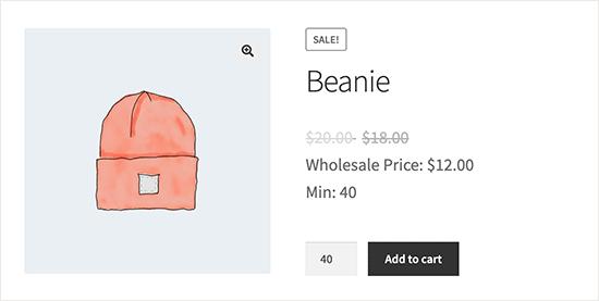 Wholesale ürün fiyatlandırma