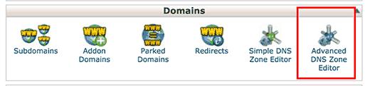 DNS bölge düzenleyicisi