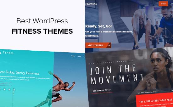 Fitness Blogları için En İyi WordPress Temaları