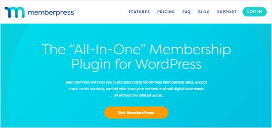 MemberPress web sitesi