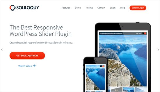 Soliloquy web sitesi