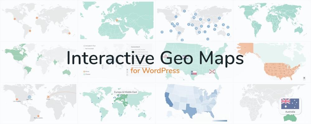 Etkileşimli Coğrafi Haritalar WordPress Eklentisi