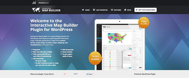 En İyi Eşleme Eklentileri: Etkileşimli Harita Oluşturucu Eklentisi