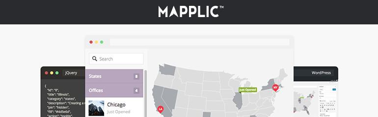 En İyi Haritalama Eklentileri: Mapplic Custom Interactive Maps