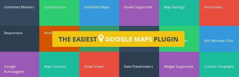 En İyi Haritalama Eklentileri: WP Google Maps (Lite)