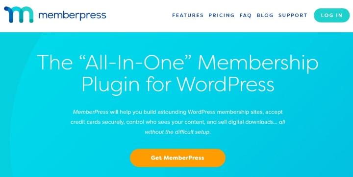 MemberPress 'anasayfası