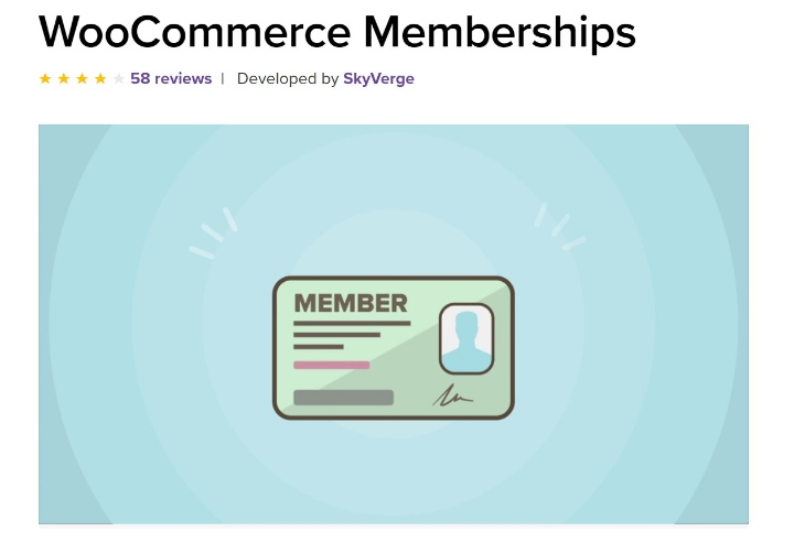 woocommerce üyelikleri ana sayfası