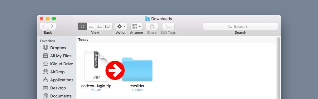 FTP yoluyla Yüklemek için Eklenti Klasörünü Açın