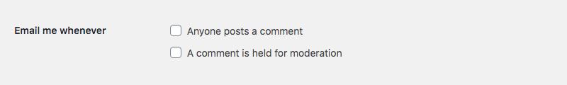 WordPress Yorum Moderasyonu: E-posta Bildirimleri