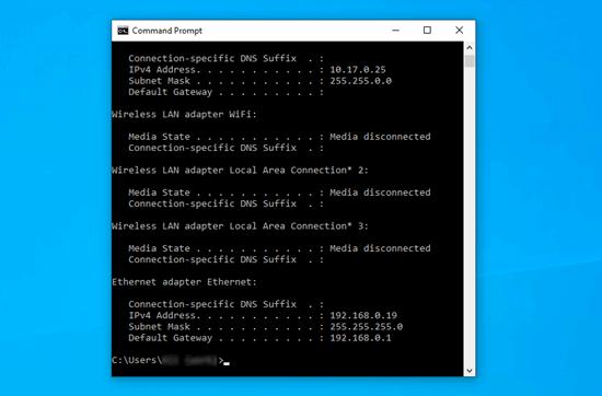 Bilgisayarınızın IP adresini yenileme