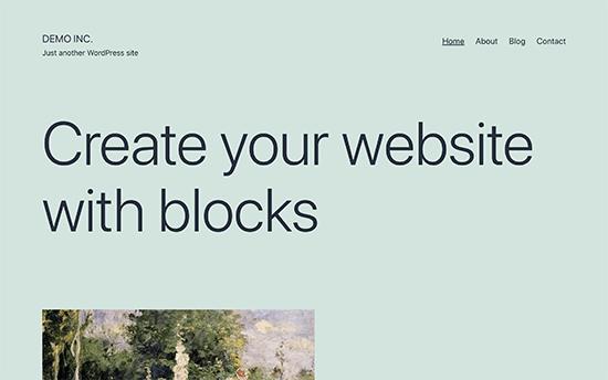 Yeni varsayılan WordPress teması Yirmi Yirmi Bir