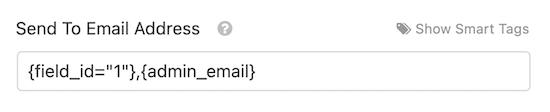 Kullanıcı ve yönetici e-posta adresine gönder