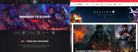 Oyun Web Sitesi Düzenleri