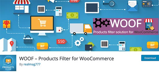 WOOF Products Filter for WooCommerce