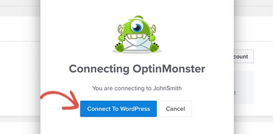 WordPress'e bağlanın