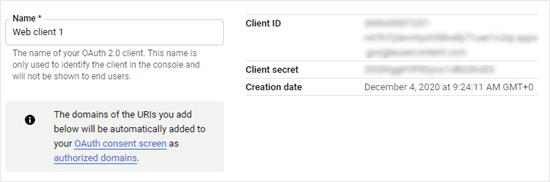 Müşteri kimliğinizi ve müşteri sırrınızı kopyalama