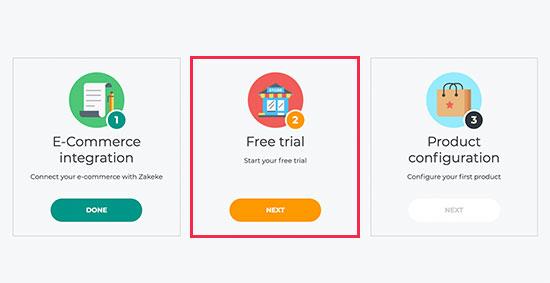 Ücretsiz denemeyi etkinleştirin