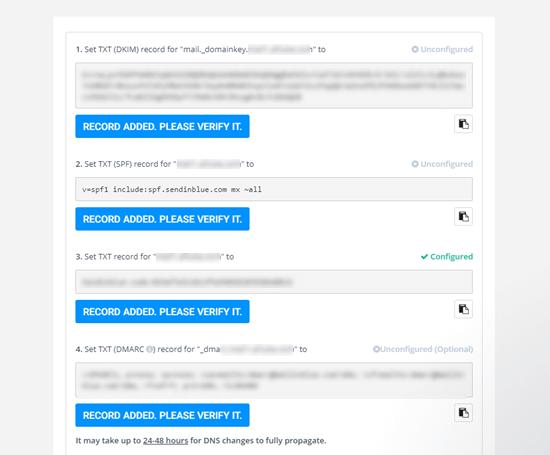 Alt alan adınızı doğrulamak için ek DNS TXT kayıtlarını alma