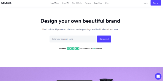 Looka logosu üreticisi