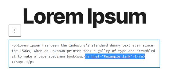 WordPress düzenleyicide HTML kodunu girin